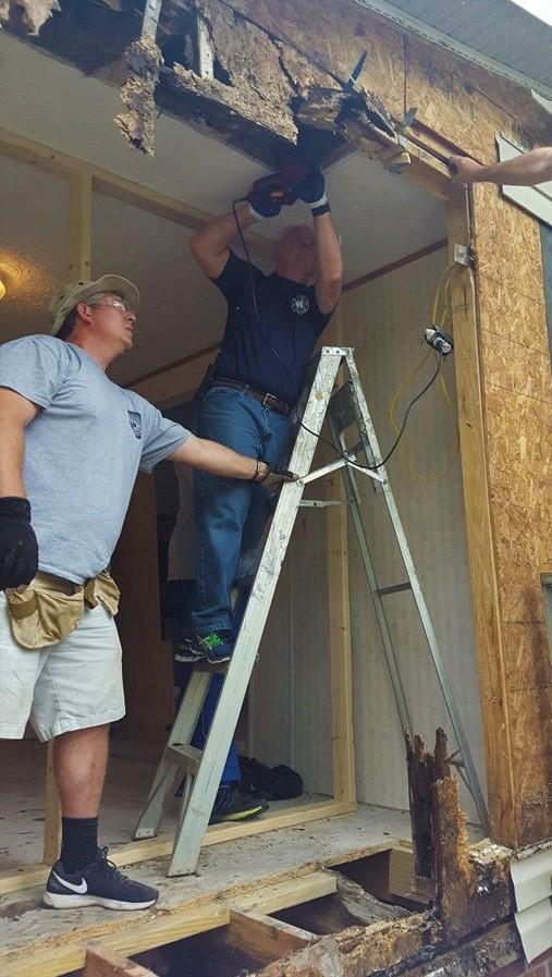 Hurricane Florence Rebuild