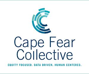 Cape fear collective logo full vertical tagline