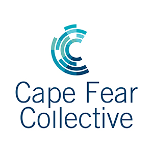Cape fear collective logo vertical