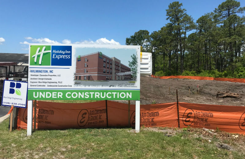Holiday Inn Express Set To Open In Porters Neck In 2020 Wilmingtonbiz