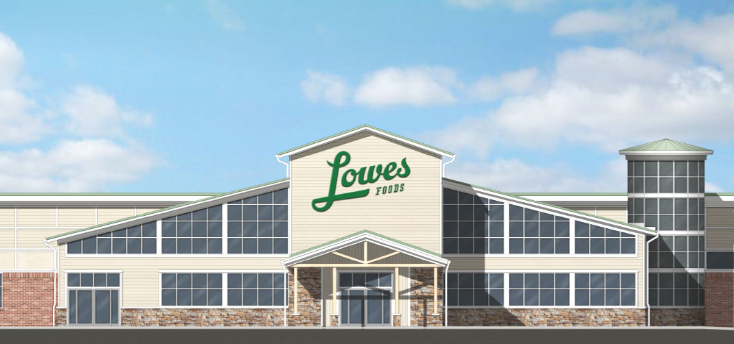 At new shopping center in works, Lowes Foods set to open by