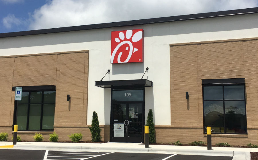 Chick Fil A Opens In Porters Neck Wilmingtonbiz