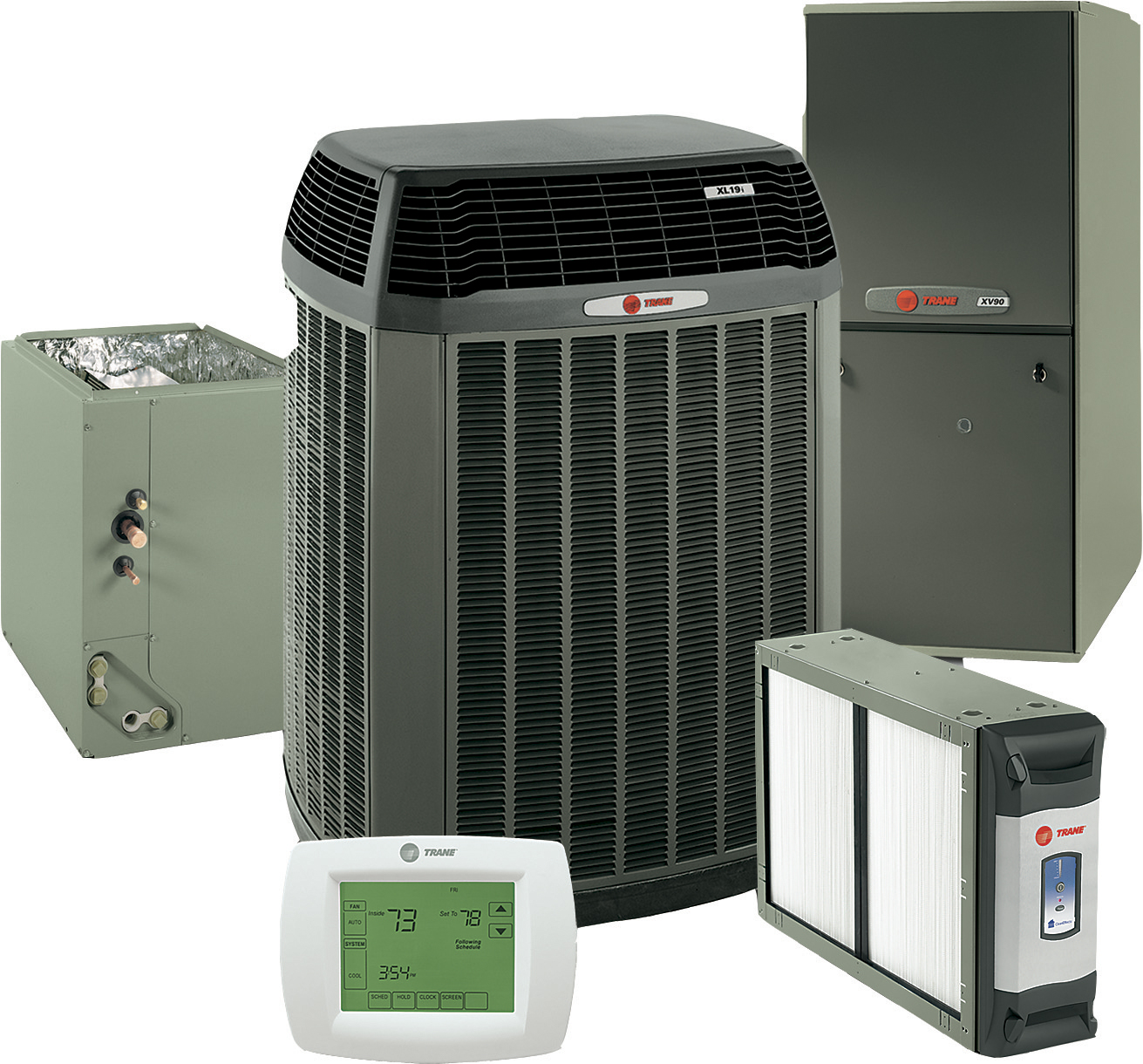 What is the price of a new heating and air system by for Best type of home heating