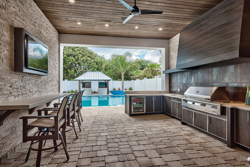 Outdoor Kitchens Provide Convenient Open-Air Charm